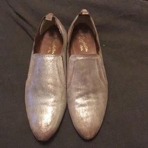 Seychelles metallic shooties (shoes/booties) 8.5